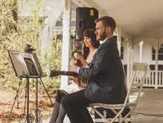 wedding entertainer classical musician for ceremony